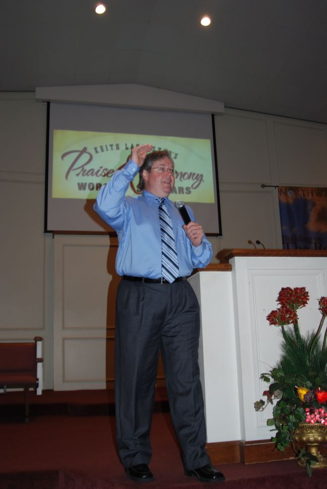 Keith Lancaster Worship Leading
