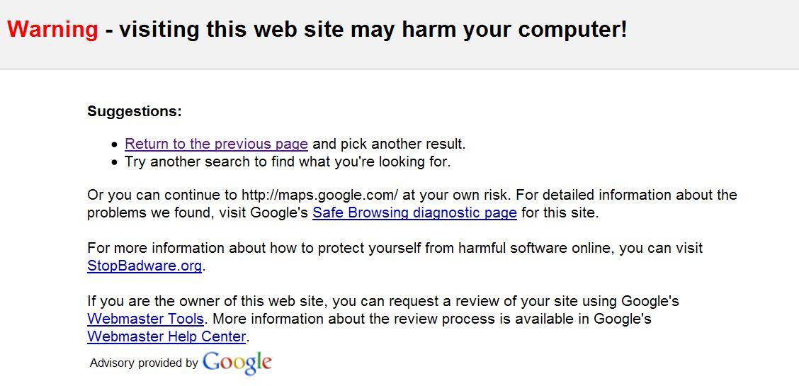 googlemaps-malware