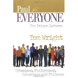 Book Giveaway - Paul for Everyone: The Prison Letters by N.T. Wright